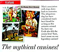 Canines in mythology